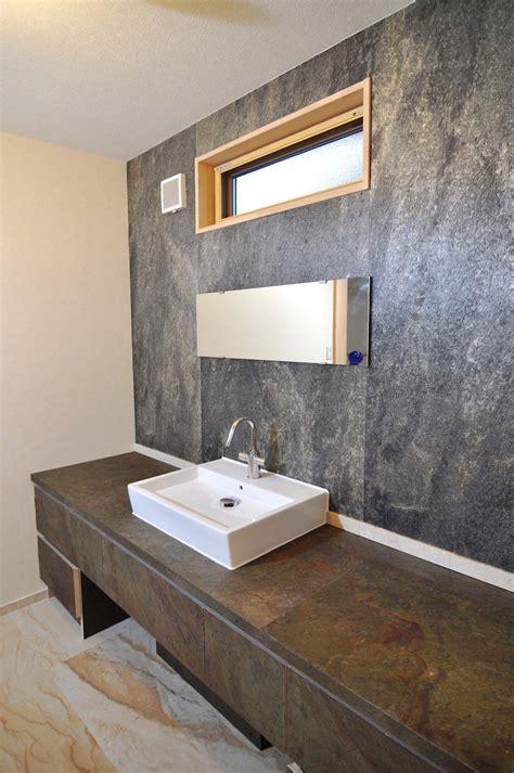 pierre naturelle dans la salle de bain choix entretien