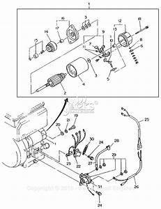 Robin  Subaru Eh34 Parts Diagram For Electric Starter