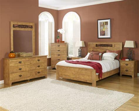 dakota king knotty pine bedroom suite