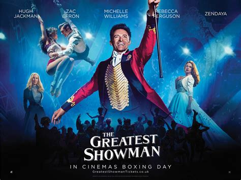 But, with his infinitely patient and encouraging wife charity (michelle williams) at his. The Greatest Showman - movie review