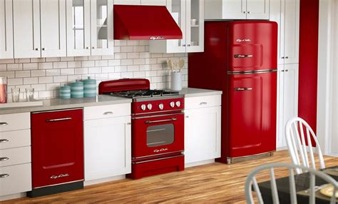 red kitchen appliances ideas  pinterest red