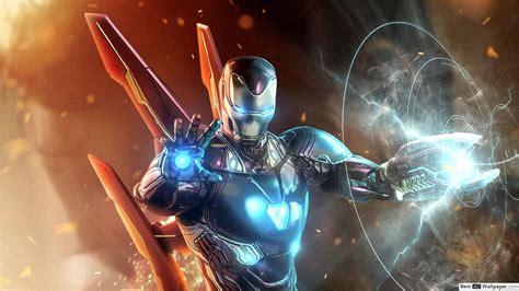 avengers endgame ironman aiming laser beam hd wallpaper