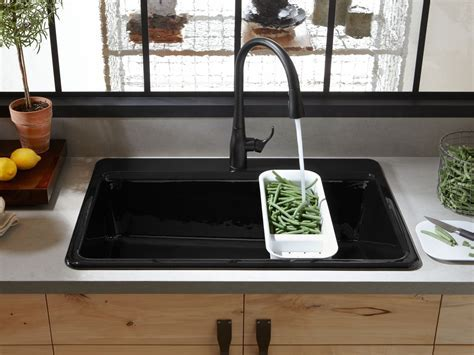 Decor: Elegant Design Of Top Mount Farmhouse Sink For