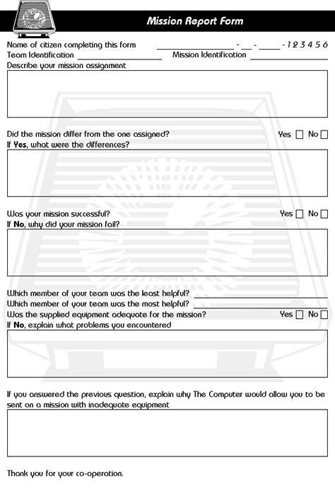 Resume Creation Form by Report Of