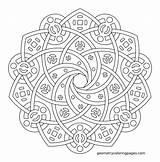 Coloring Geometric Adults Geometry Mandalas Mandala Adult Sacred Printable Sheets Para Colorear Imgur Niños Zentangle Colouring Shapes Square Patterns Age sketch template
