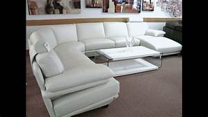 Natuzzi leather sectional sofa youtube for Disconnect natuzzi sectional sofa