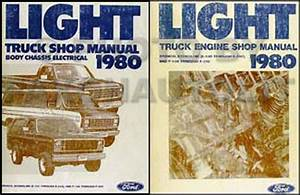 1980 Ford Electrical Troubleshooting Manual F100 F150 F250 F350 Bronco Courier