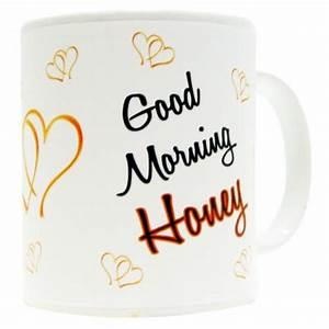 Mood Ceramic Mug Good Morning Honey