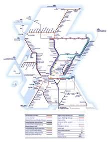 Scotland Rail Map