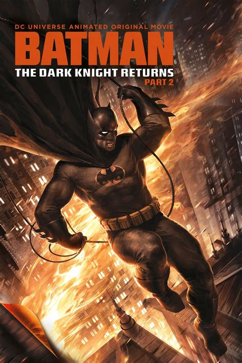 Batman: The Dark Knight Returns, Part 2 DVD Release Date ...