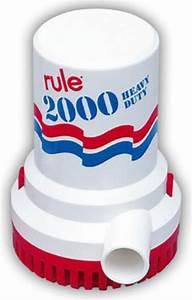 Bilge Pump 12v 2000 Gph