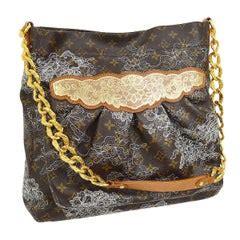 louis vuitton  monogram canvas musette salsa shoulder handbag flap purse  stdibs