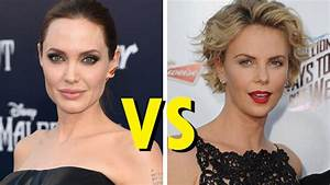 Celebrity Showdown: Angelina Jolie vs. Charlize Theron ...