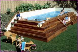 Pool Decks Plans Inspiration by Best 25 Best Above Ground Pool Ideas On Above