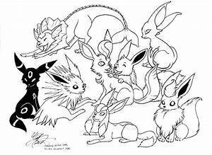Pokemon Pictures Of Eevee - AZ Coloring Pages