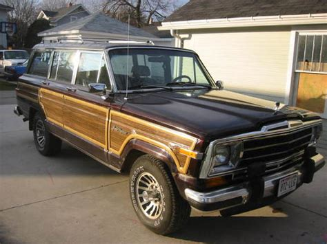 1989 jeep grand wagoneer johnv8la 1989 jeep grand wagoneer specs photos