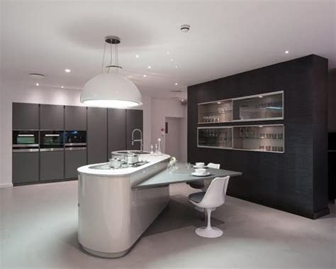 kitchen cabinets modern 50 mesas triangulares lindas para diversos ambientes 3111
