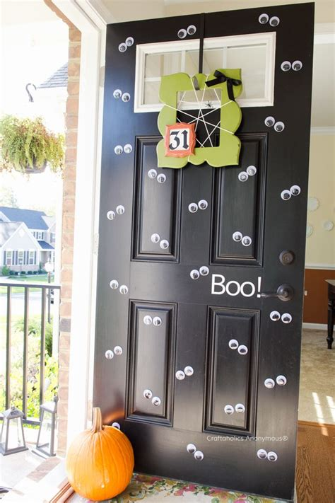 ideas  halloween door decorations  pinterest boo door hanger halloween party