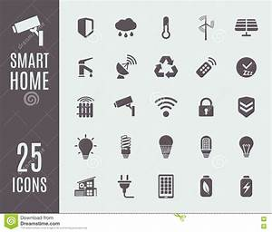 Smart Home Icon : smart home icon set automation control systems vector illustration stock vector image 79118838 ~ Markanthonyermac.com Haus und Dekorationen