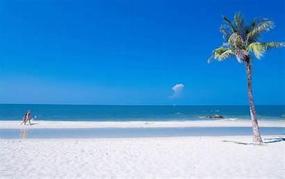 Summer Beach Ocean Desktop Wallpapers Background Backgrounds