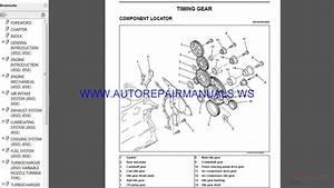 Hino Truck Engine J05d-tl J05e-ti Service Manual