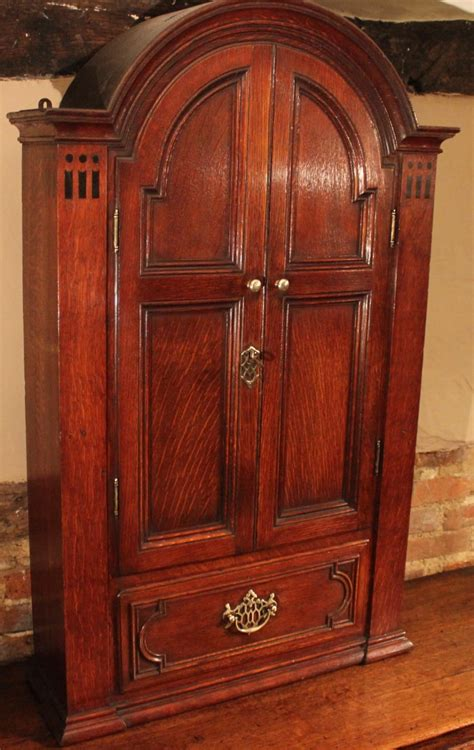 Hanging Cupboard by 19th Century Oak Hanging Wall Cupboard Wo109 La58710
