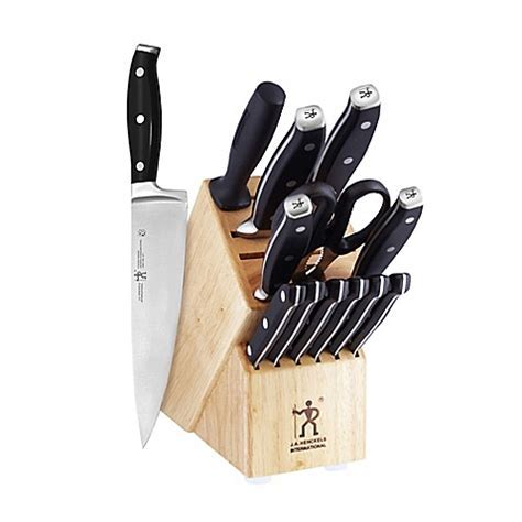 J.A. Henckels International Premio 14 Piece Cutlery Block