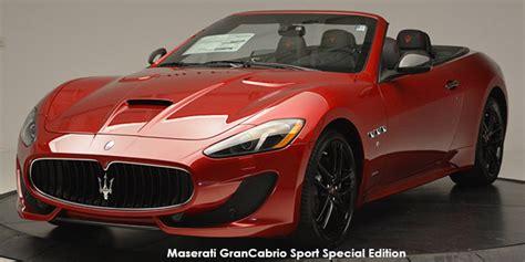 Maserati Grancabrio Price