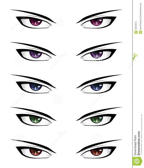 pictures anime boy eyes drawings art gallery