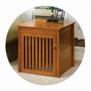 Animals that give pause dog crate end tables and children for High end dog crates