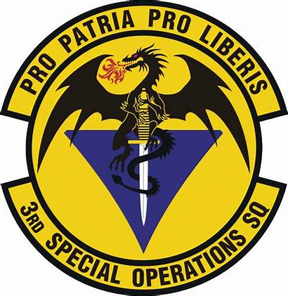 Operations Squadron Special 3rd 3d Military Emblem