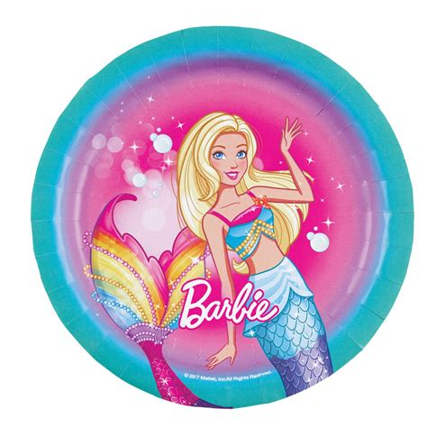 barbie dreamtopia party plates party store girl