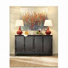 Home Decorators Collection Oxford Black Storage Console