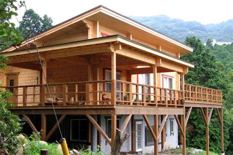 chalet maison en bois homeandgarden