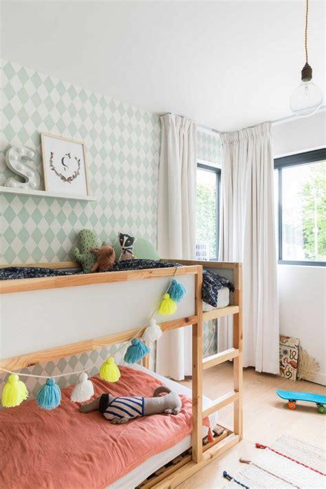 kinderkamer met stapelbed childrens room bunk bed