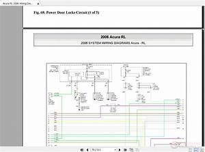 Acura Rl 2006 Wiring Diagrams System