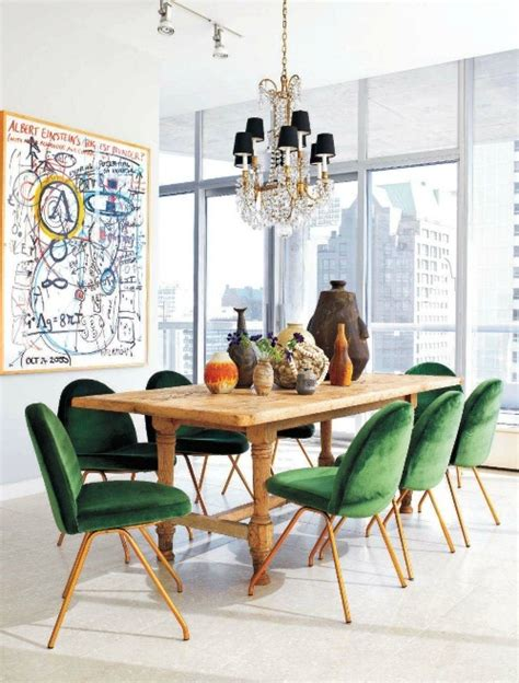 rosa beltran design sneak peek green velvet saarinen