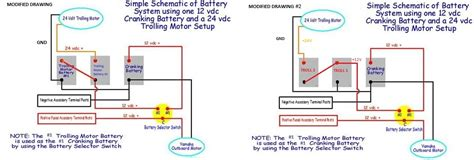 On 24 Volt Battery System Wiring Diagram by Can I Jump Start From 24volt System The Hull