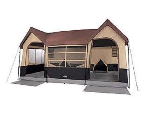 10 person tent with screened porch family cing tents 10 person ebay