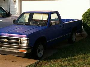 Buy Used 1991 Chevy S10 Blue Pick Up Truck In Lexington