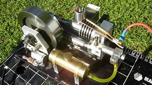 Webster Engine Works Gas Model Engine