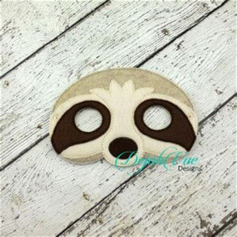 sloth mask template 17 best images about felt projects on sleep mask cheetahs and alligators