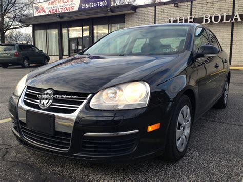2007 Volkswagen Jetta Cheap Very Good Mpg Auto 4 Door