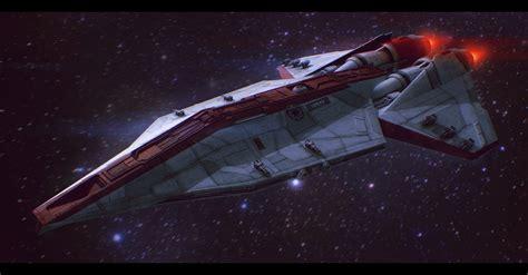 Star Wars Republic Corvette Commission By Adamkop On