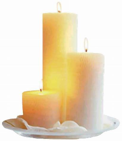 Candle Christmas Flameless Decor Candlestick Flame Lights