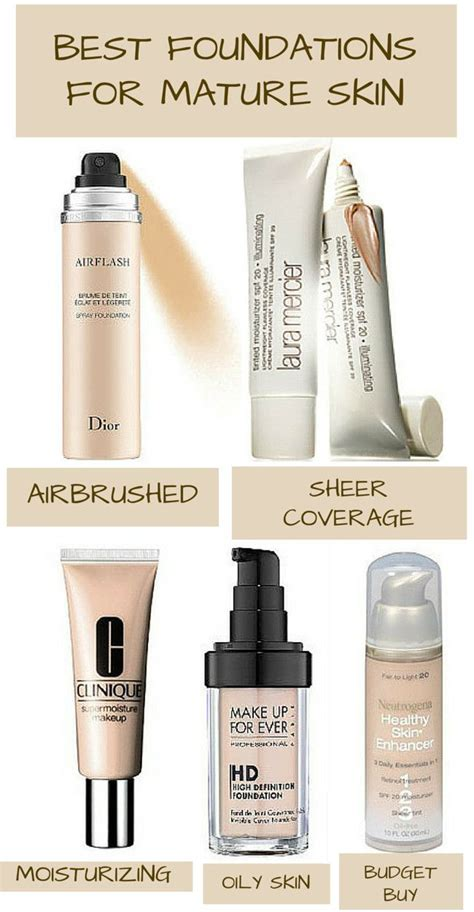 Best Makeup For Skin What Are The Best Foundations For Skin