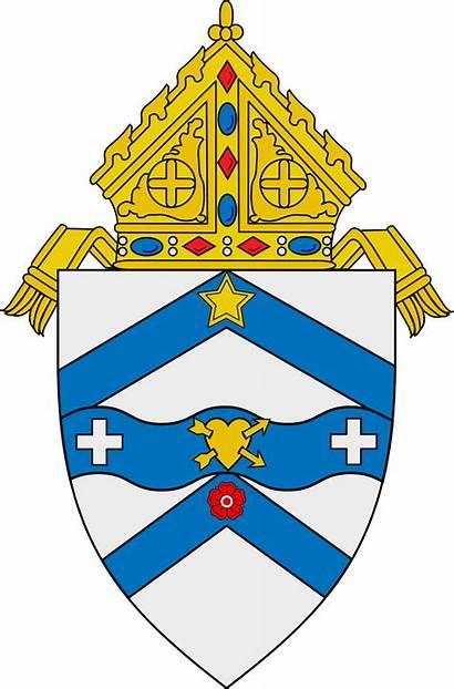 Diocese Austin Catholic Svg Roman Coa Bishop