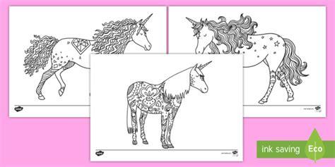 unicorn mindfulness coloring worksheet worksheets