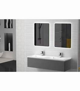 Meuble Salle De Bain Suspendu : meuble suspendu salle de bain sigma 140 banyo ~ Edinachiropracticcenter.com Idées de Décoration