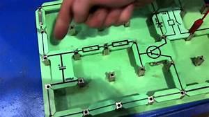 Time Delay Circuit Using Locktronics To Control Glow Plug